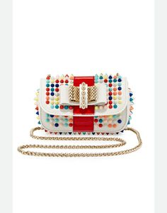Christian Louboutin Sweet Charity Small Spiked Crossbody Bag