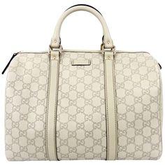 1095fc5c9a5 Gucci Ivory Guccissima Leather Joy Boston Bag