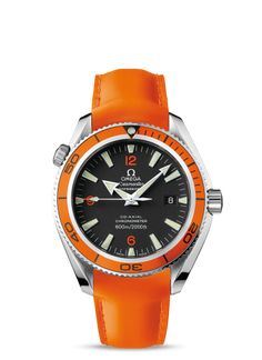 2909.50.83 : Omega Seamaster Planet Ocean 600M Co-Axial 42mm Orange / Orange Rubber