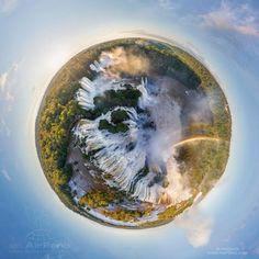 Planetas diminutos en el mundo