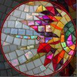 Floral Mosaic Porcelain Plate, photography, detail of shiny mosaic. Mosaic Artwork, Mirror Mosaic, Mosaic Wall, Mosaic Tiles, Sea Glass Mosaic, Stone Mosaic, Stained Glass Art, Mosaic Flower Pots, Mosaic Garden