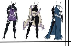Adoptables-Outfit Set 13 CLOSED by HardyDytonia.deviantart.com on @DeviantArt