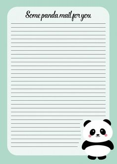 Notitieblok A5 Panda Notitieblok panda is ideaal om te gebruiken voor al je notities, maar ook uitermate geschikt om brieven te schrijven. Ideaal om zelf te gebruiken, maar natuurlijk ook leuk om te geven als kado. De planner bestaat uit 50 blz. met een kartonnen achterkant.