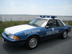 Ford Mustang 5.0 liter 302 notchback / coupe Georgia State Patrol SSP (Special Service Package) | Fox Body
