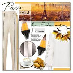 """I Love Paris In the Fall"" by barbarela11 ❤ liked on Polyvore featuring Marni, rag & bone, Oscar de la Renta and Henri Bendel"