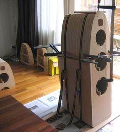 Diy Speakers, Built In Speakers, Speaker Design, Boombox, Loudspeaker, Audio Equipment, Diys, Cool Stuff, Columns