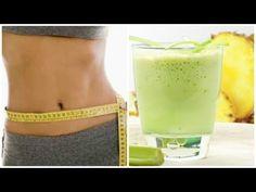 Frullato per eliminare il grasso, sgonfiare il ventre e pulire il colon - YouTube