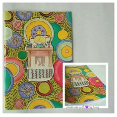 Handmade notebook with Illustrations