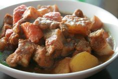 [Food Menu]  Babi Ponteh,Nyonya Breeze Restaurant,Georgetown,Penang.
