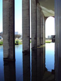 Itamaraty Palace  Brasília, Brazil  Oscar Niemeyer