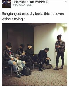 yeah right..like how can they still look so hot even with a mask on their faceu