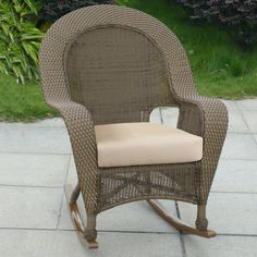 High Back Outdoor Wicker Chairs