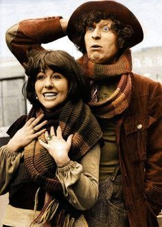 The Doctor with Sarah Jane Smith