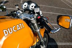 Vintage GT Ducati Classic, Ducati Sport Classic 1000, Classic Bikes, Retro Motorcycle, Motorcycle Design, Bike Design, Ducati Sport 1000, Ducati Cafe Racer, Cafe Racers