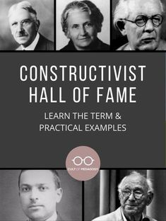 To fully understand what constructivist teaching looks like, consider some example learning activities and read about constructivist pioneers.   Cult of Pedagogy Cult Of Pedagogy, Content Area, Constructivism, Career Advice, Professional Development, Student Learning, Learning Activities, Vocabulary, Knowing You