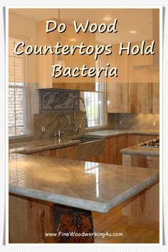 While pretty, butcher block countertops require much more maintenance than their marble or stone counterparts. ... On average, this kind of re-treating must be done once a year, but it also depends on how you use the countertop. The positive is that, if maintained properly, these countertops can last a very long time.