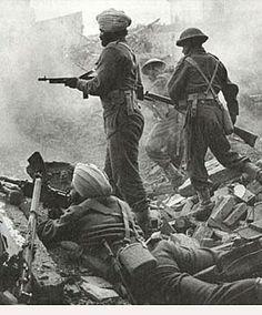 allied troops.