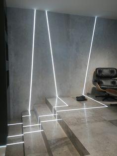 Architectural Lighting Design, Home Lighting Design, Ceiling Light Design, Linear Lighting, Interior Lighting, Open Office Design, Light Architecture, Office Interiors, Lamp Design