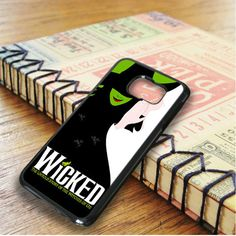 Wicked Broadway Green Cover Samsung Galaxy S6 Edge Plus Case