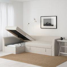 HOLMSUND Sleeper sectional, 3-seat - Nordvalla beige - IKEA