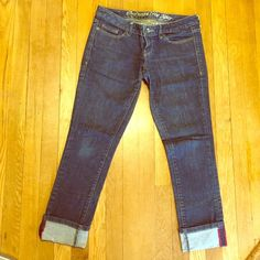 Converse skinny jeans Converse one star Sheridan skinny jeans. NWOT. Can uncuff leg as well. Low rise. Converse Jeans Skinny