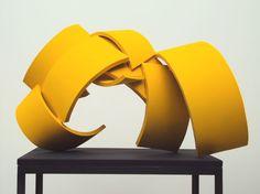 Yellow - sculpture - First session - Eelke van Willegen