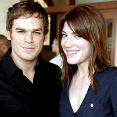 Michael C. Hall and Jennifer Carpenter (Dexter) | 10 Famous Off-Screen TV Couples You Never Knew About #celebritycouples #hollywoodcouples