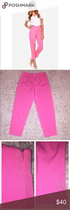 Lulus slacks Lulu's pants, brand new! The inseam is about 26 1/2, 95% polyester 5% spandex Lulu's Pants Ankle & Cropped