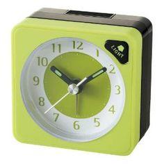 Watches Sale - IDEA LABEL アナログアラームクロックMINI LCA059-G グリーン 2190462   最新の時間センター