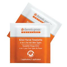 I'm learning all about Dr. Dennis Gross Skincare EZ4U Facial Towelette at @Influenster!