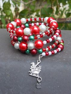 'Santa's Little Helper Wrap Bracelet' is going up for auction at  4pm Sat, Oct 13 with a starting bid of $5.