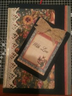 Amelia's funky cards/journals/etc. Pick And Mix, Bookmarks, Handmade Cards, Journals, Arts And Crafts, Shabby, Frame, Home Decor, Craft Cards