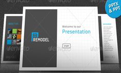 Remodel Powerpoint Presentation Template (Powerpoint Templates)