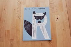 R is for Raccoon (from Our Homeschool Fun)