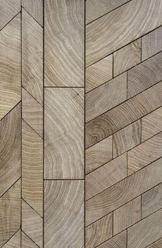 The Forêt Collection is a revolutionary wood flooring and wall covering marquetry.Timeless patterns of preassembled wood blocks on tongue/grooveplanks which are as easy to assemble as any standard parquet. End Grain Flooring, Into The Woods, Wall And Floor Tiles, Wall Cladding, Floor Patterns, Wooden Walls, Wooden Art, Wood Texture, Wall Treatments