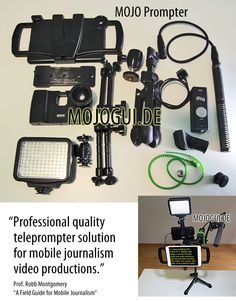 Robb Montgomery: Gear guide: Build a pro TV rig with mobile kit. #M...