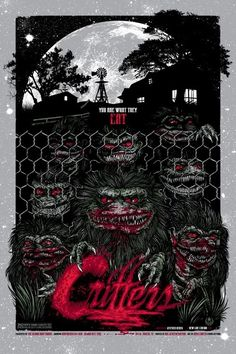 """""""Critters"""" Movie Poster by Rhys Cooper"""