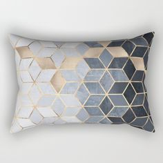 Geometric Pattern Bed Pillows, Bedding, Bedset, Pillow