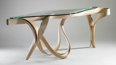 Joseph Walsh :: Sculptural Console Table from his Equinox series
