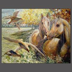 Horse Art by Gill Bustamante