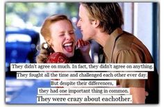 My favorite quote from the Notebook