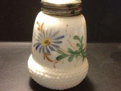 Buckeye Acorn, decorated white opal ware