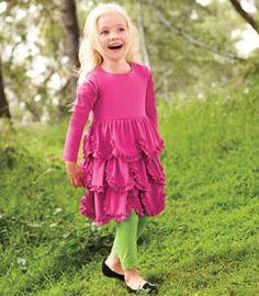 scalloped skirt dress - Chasing Fireflies
