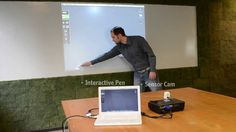How IPEVO IS-01 Interactive Whiteboard System Works