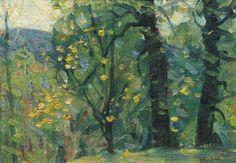 Spring Woods by John F. Carlson (1875-1947)