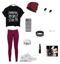 """""""Untitled #37"""" by gymnast132 on Polyvore featuring Great Plains, Converse, Kate Spade, claire's, Adina Reyter and NARS Cosmetics"""