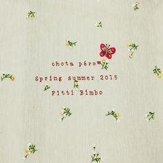 heart emoticon chota péro is at Pitti Bimbo