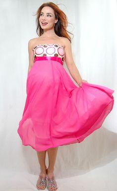 """Sweet Carolina"" Maternity Dress for your Baby Girl Shower! Find @ ModMomMaternity.com"