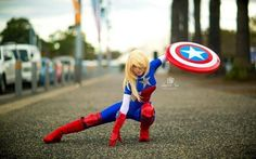Captain America #cosplay by Bad_Luck_Kitty_10
