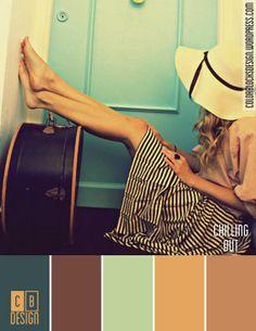 Chilling Out | Color Blocks Design